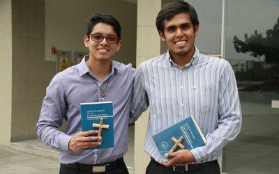 Carlo y Rodrigo: nuevos estudiantes jesuitas