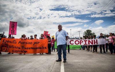 Arriesgando la vida por Honduras