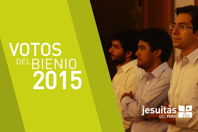 Votos del Bienio 2015